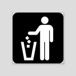 Litter Park Symbol Sticker