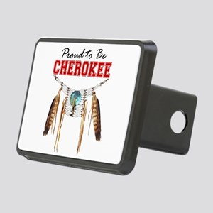 Proud to be Cherokee Rectangular Hitch Cover