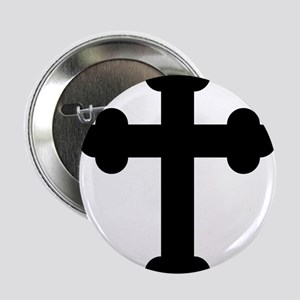 "Religion Cross 2.25"" Button"