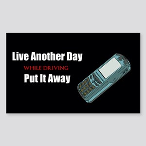 Live Another Day Sticker (Rectangle 10 pk)