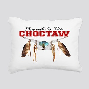 Proud to be Choctaw Rectangular Canvas Pillow