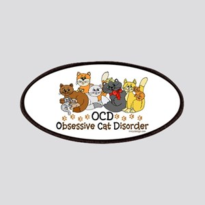 OCD Obsessive Cat Disorder Patches