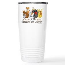 OCD Obsessive Cat Disorder Stainless Steel Travel