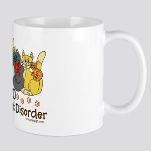 OCD Obsessive Cat Disorder Mug