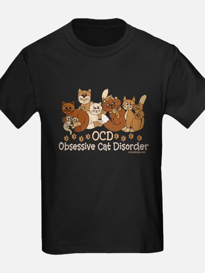 OCD Obsessive Cat Disorder T