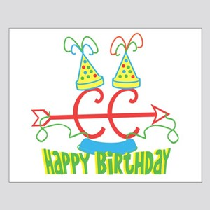 Cross Country Birthday Small Poster