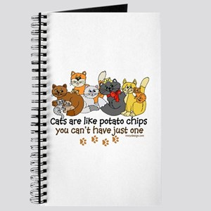 Cats are like potato chips Journal