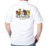 Cats are like potato chips Golf Shirt