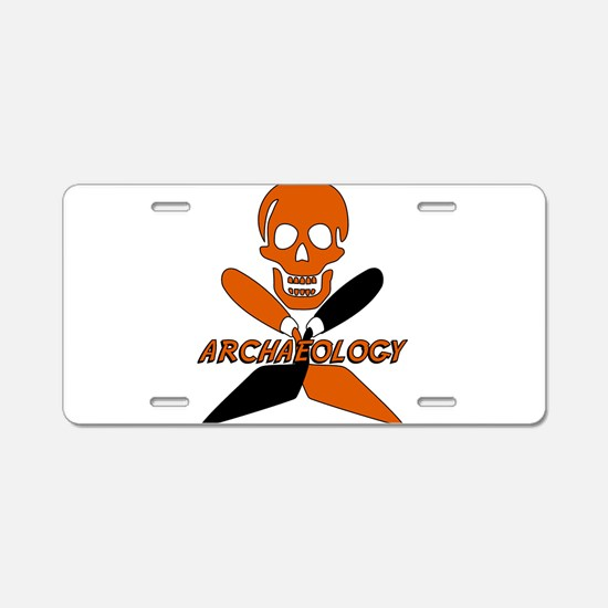 Cute Anthropology Aluminum License Plate