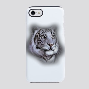 White Tiger Face iPhone 7 Tough Case