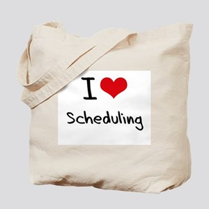 I Love Scheduling Tote Bag