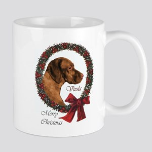 Vizsla Christmas Mug