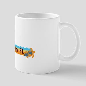 Clearwater FL - Beach Design. Mug