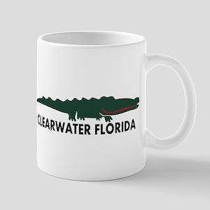 Clearwater FL - Alligator Design. Mug