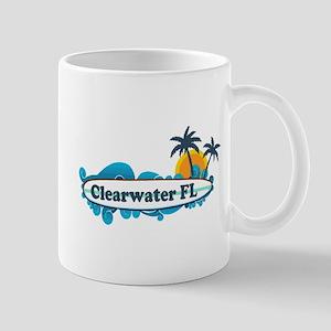Clearwater FL - Surf Design. Mug