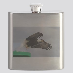 Taking Off Flask