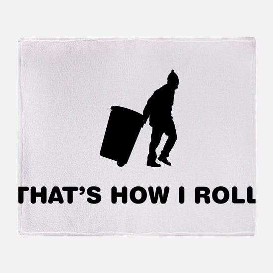 Waste Collector Throw Blanket