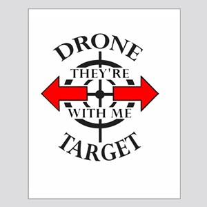 DRONE TARGET Posters