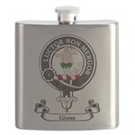 Badge - Glass Flask