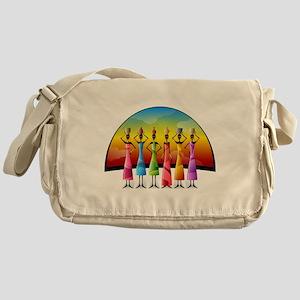 African Women Messenger Bag