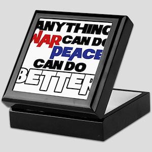 War and Peace Keepsake Box