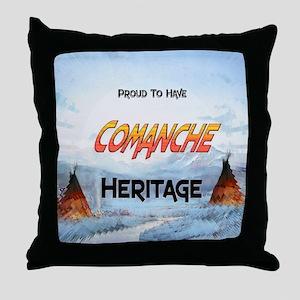 Comanche Heritage Throw Pillow