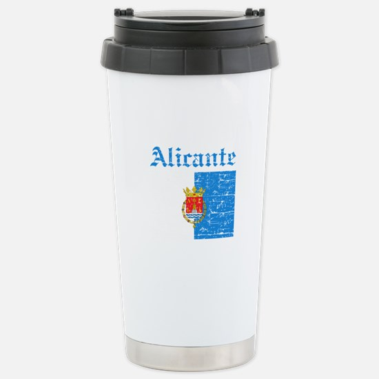 Alicante flag designs Stainless Steel Travel Mug