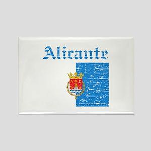 Alicante flag designs Rectangle Magnet