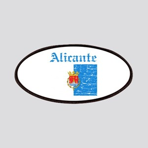 Alicante flag designs Patches