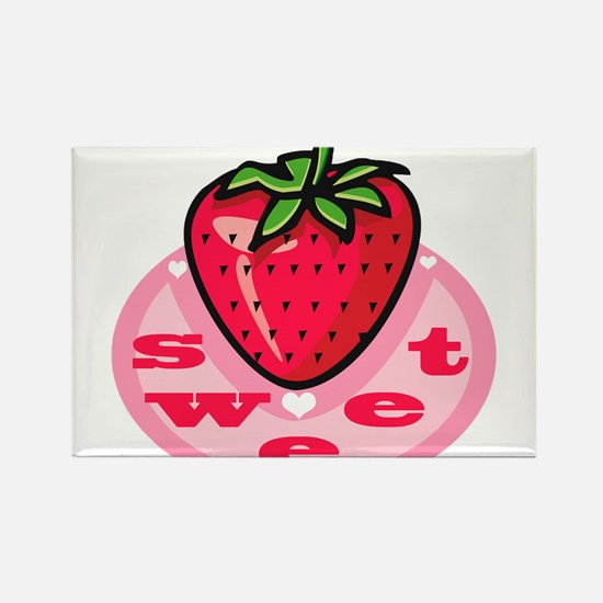 Sweet Berry Rectangle Magnet