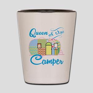 Queen of the Camper Shot Glass