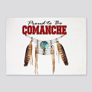 Proud to be Comanche 5'x7'Area Rug