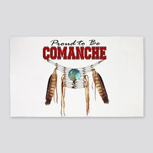 Proud to be Comanche 3'x5' Area Rug