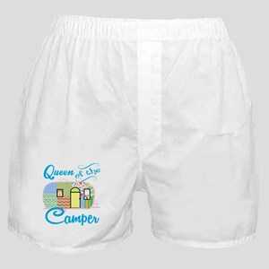 Queen of the Camper Boxer Shorts