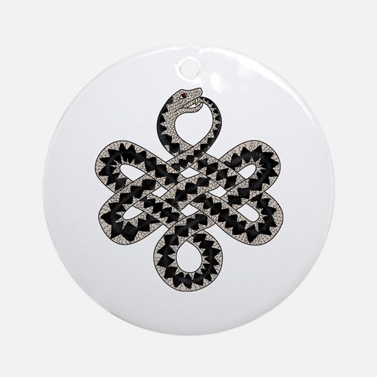 Adder Ornament (Round)