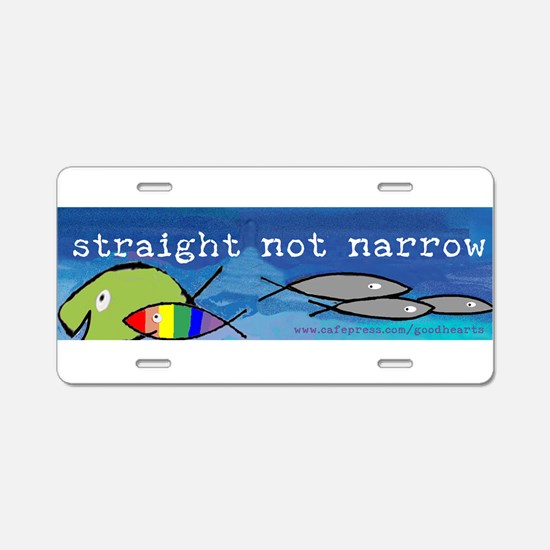 Funny Liberal christian Aluminum License Plate