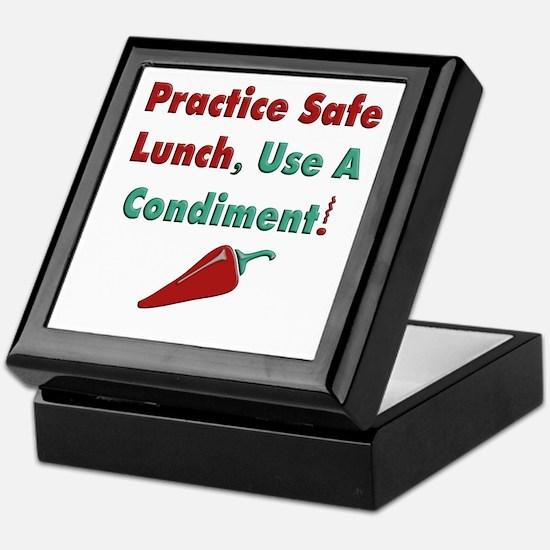 Use a Condiment Keepsake Box