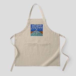 Shih Tzu spiritual love tree Apron