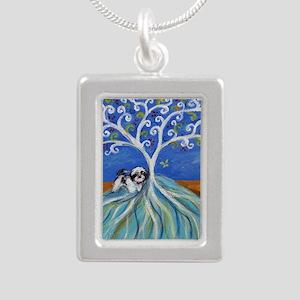 Shih Tzu spiritual love tree Necklaces