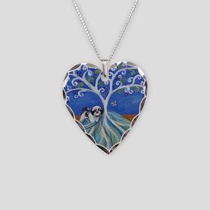Shih Tzu spiritual love tree Necklace