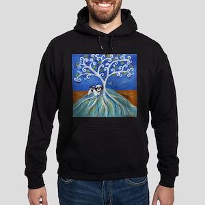 Shih Tzu spiritual love tree Hoodie