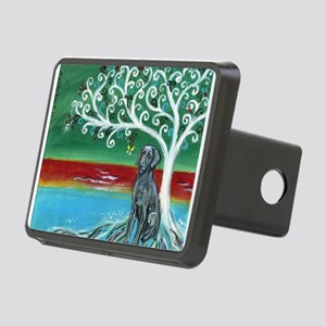Weimaraner Spritual Love Tree Hitch Cover