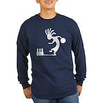 Kokopelli Bowler Long Sleeve Dark T-Shirt