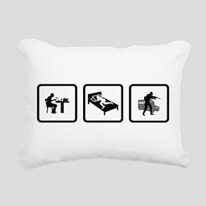 SWAT Rectangular Canvas Pillow