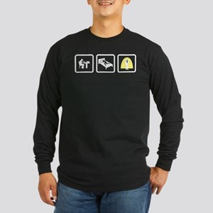 Stand-up Comedian Long Sleeve Dark T-Shirt
