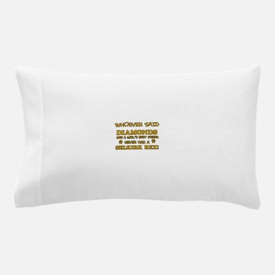 Selkirk Rex cat lover designs Pillow Case
