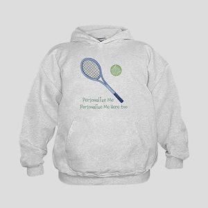 Personalized Tennis Kids Hoodie