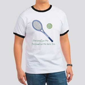 Personalized Tennis Ringer T