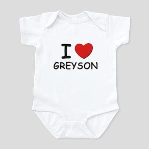 I love Greyson Infant Bodysuit