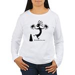 Kokopelli Cheerleader / Pep S Women's Long Sleeve